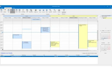 Outlook Terminkalender in cobra CRM