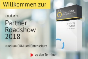 cobra Partner Roadshow 2018