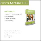 cobra Programmvorstellung Adress PLUS