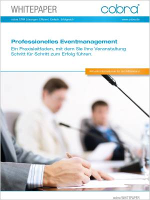 Cover kostenloses Whitepaper Eventmanagement