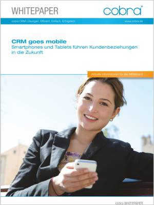 Cover kostenloses Whitepaper Mobile CRM